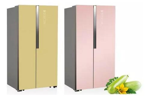 澳柯玛-对开门冰箱