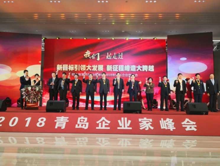 2018青岛企业家峰会召开 澳柯玛获得多项表彰