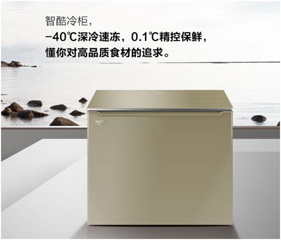 澳柯玛智酷内嵌式冷柜,足够