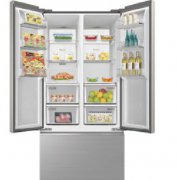 囤货首选澳柯玛全新中式对开冰箱,健康新鲜常伴